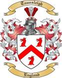 Taunsleigh Family Coat of Arms from England