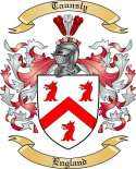 Taunsly Family Crest from England