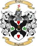 Tayler Family Coat of Arms from England