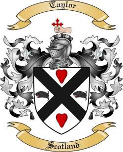 Taylor Family Coat of Arms from Scotland