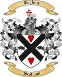 Taylour Family Crest from Scotland