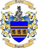 Taylur Family Crest from England