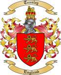 Teasley Family Crest from England