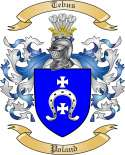 Tebus Family Crest from Poland