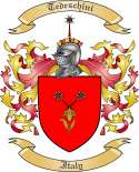 Tedeschini Family Crest from Italy