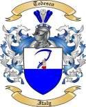 Tedesco Family Coat of Arms from Italy2
