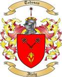 Tedesco Family Coat of Arms from Italy