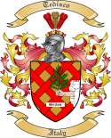 Tedisco Family Coat of Arms from Italy2