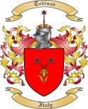 Tedisco Family Coat of Arms from Italy