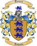 Teearu Family Coat of Arms from Estonia