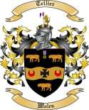 Tellier Family Crest from Wales