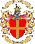 Terlinden Family Crest from Germany