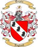 Terpin Family Crest from England
