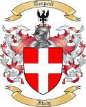 Terpoli Family Crest from Italy