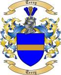 Terry Family Crest from France