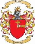 Teske Family Coat of Arms from Germany