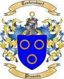 Teskendorf Family Crest from Prussia