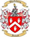 Thackaberry Family Coat of Arms from Ireland