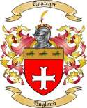 Thatcher Family Coat of Arms from England