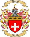 Thaxter Family Crest from England