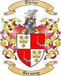 Theisz Family Crest from Germany