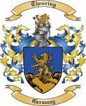 Theuring Family Crest from Germany