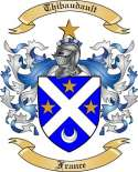 Thibaudault Family Coat of Arms from France