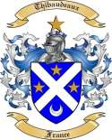 Thibaudeaux Family Crest from France