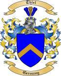 Thiel Family Crest from Germany2