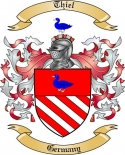Thiel Family Crest from Germany
