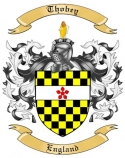 Thobey Family Crest from England