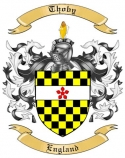 Thoby Family Coat of Arms from England