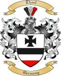 Thoel Family Crest from Germany