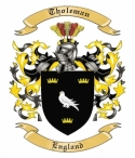 Tholeman Family Coat of Arms from England