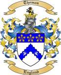 Thomas Family Coat of Arms from England