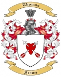 Thomas Family Coat of Arms from France