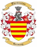 Thomasius Family Crest from Germany1
