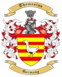 Thomasius Family Crest from Germany