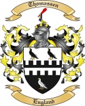 Thomassen Family Coat of Arms from England
