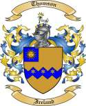 Thomson Family Crest from Ireland