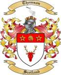 Thomson Family Crest from Scotland