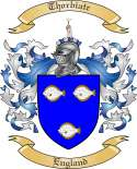 Thorbiatr Family Crest from England