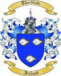 Thorbiatr Family Crest from Ireland