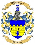 Thormans Family Crest from Germany