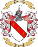 Thornton Family Crest from England