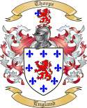 Thorpe Family Coat of Arms from England3