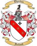 Thorton Family Crest from Ireland