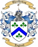 Threthaway Family Coat of Arms from England