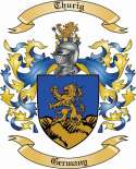Thurig Family Crest from Germany