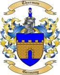 Thurman Family Crest from Germany